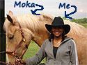 Tammy Terrell and My Horse Moka